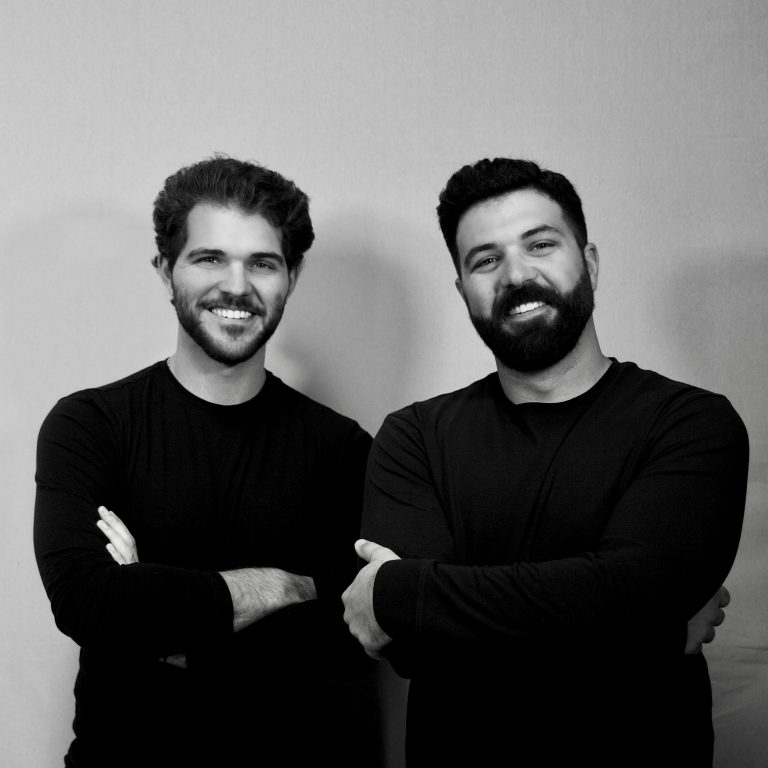 (Left to Right) Jake and Josh Pribanic, Co-Founders of LastLine Cyber